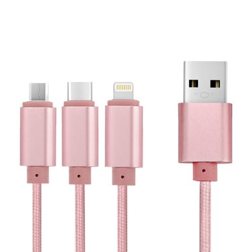 3IN1 CABLE | cable, smartphones cable