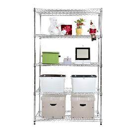 Metal rack 5-layer storage shelves IS-12261180 5S