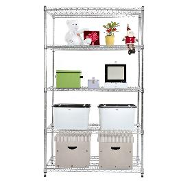 Metal rack 5-layer storage shelves IS-15261180 5S