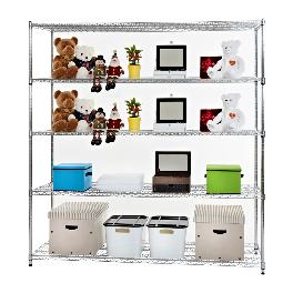 Metal rack 5-layer storage shelves IS-18261180 5S