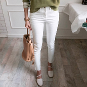 BABIROLEN's Tight Cotton Skinny Jeans