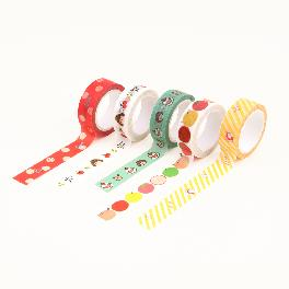 Hello Jane washi masking tape(Love,Bless you,Cake,Apple Chichi,Stripe)