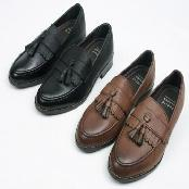 Height-elevating Tassel Loafer