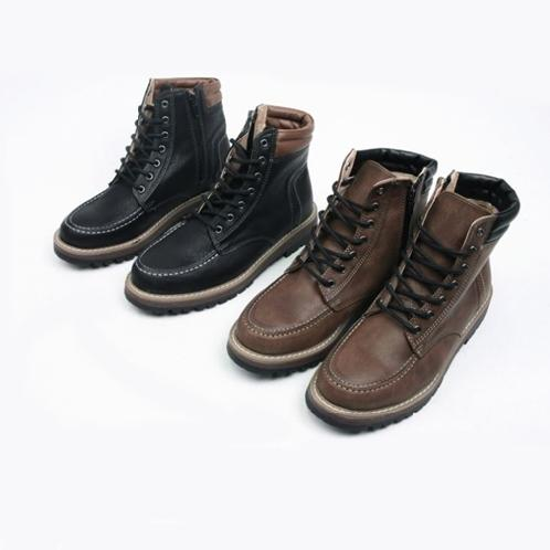 Height-elevating Leather Walker | shoes, loafer,flat, man`s shoes, Height-elevating, walker