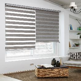 POLYESTER COMBI BLIND WINDOW SHADE TEXTILE(HOLY)-ANTIBACTERIAL/BLACK OUT