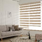 POLYESTER COMBI BLIND, WINDOW SHADE TEXTILE(OLIVE)-ANTIBACTERIAL