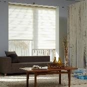 POLYESTER COMBI BLIND WINDOW SHADE TEXTILE (WILLOW)-ANTIBACTERIAL
