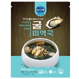 oyster sea mustard soup