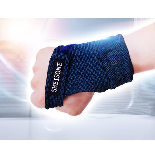 Sheisone Wrist Guard Band (Right Type / Navy) | Band Brace, Support Carpal Tunnel, Sprains Protect Muscles