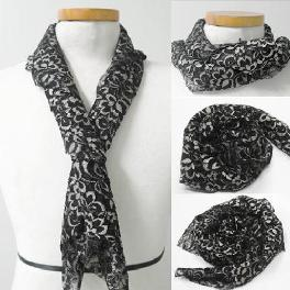 The Pray Swan Ladies Scarf