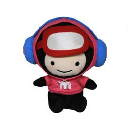 Headphone Mongni Plush Toy