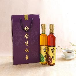 Seung-In Food Perilla & Sesame Oil Set