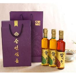 Seung-In Food Perilla 2ea & Sesame Oil 1ea 300ml