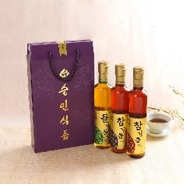 Seung-In Food Perilla 1ea & Sesame Oil 2ea 300ml