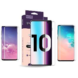 Full coverage 6H 3D glass screen protector for Galaxy S10/S10+/S10e