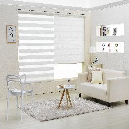 POLYESTER COMBI BLIND WINDOW SHADE TEXTILE  (CAMELLIA)
