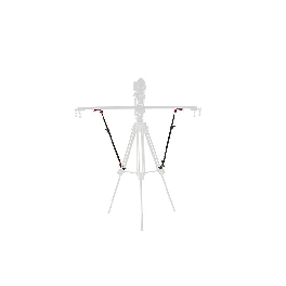 Konova Tripod Stability Arms for Slider (2 Arms In)