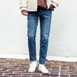 Theboy's relaxed cutting denim pants