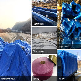 Large, Strong, Flexible, Waterproof large sheet Tarpaulin (PVC, PE, HDPE, LDPE, LLDPE) made in Korea