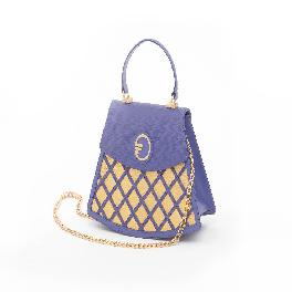 Purity Gold plate/leather handbags