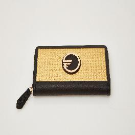purity Gold plate/leather  Zip your wallet