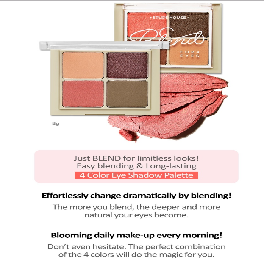 [ETUDE HOUSE] Blend For Eyes 8g 6 Color / 4 Color Eye Shadow Palette