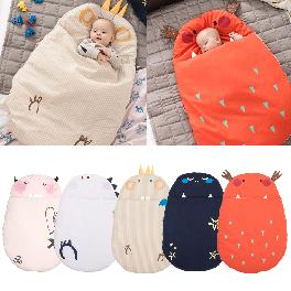 cotton daby baby sleeping bag baby outer blanket mult-color