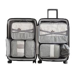Packing Cubes 7 Pcs Travel Luggage Packing Organizers Set