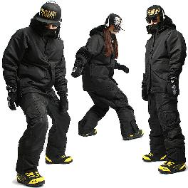 [SOUTH PLAY] Ski Snowboard Jumper Blazer Jacket Coat + Trousers Pants Suits SET 01