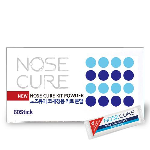 Nose Cure Nasal Wash Salt Saline Powder 60 packets (For use with 240ml of nasal irrigation) | nasal irrigation,nose cleaner,saline nasal rinse,nasal,nose,nasal inflammation,sinus,saline,nasal wash salt
