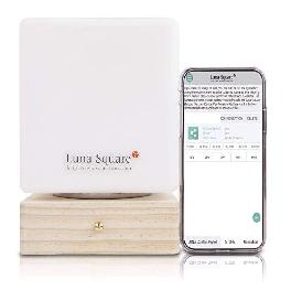 Luna Square Smart Bedside Lamp