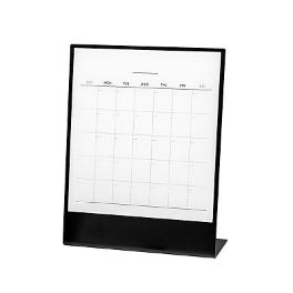 Magnetic Stand Calender (monthly scheduler, weekly to do list)