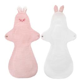 Cotton napkin bunny over night set of 2