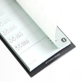 [ICONIC DESIGN] Sticky fitness log (includes 3)