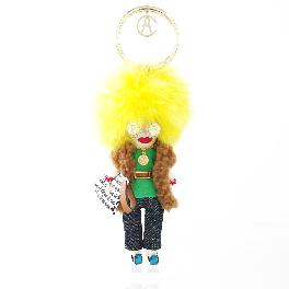 [ANNACRI]  Fancy Doll Key ring keyring fashion accessories jewelry