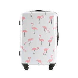 [OGRAM]  Flamingo polycarbonate hard suitcases