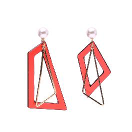 [NARA] Earring MUE-18008 (red)