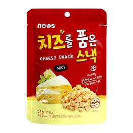 Cheese in the snack Cheddar cheese flavor(cube type)