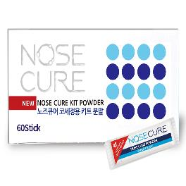 Nose Cure Nasal Wash Salt Saline Powder 60 packets (For use with 240ml of nasal irrigation)