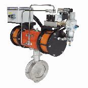 2 STEP ON-OFF BUTTERFLY VALVE