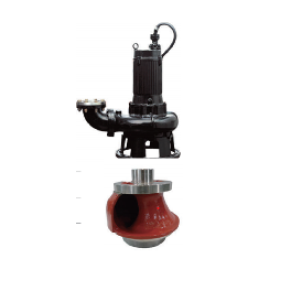 NON-Clog channel(spurt) submersible pump for sewage and wastewater treatment
