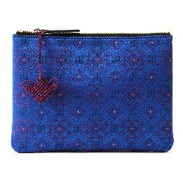 Korean traditional pattern silk pouch B