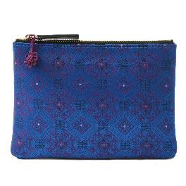 Korean traditional pattern silk pouch M