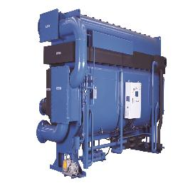 Single Effect Hot Water Chiller for cogeneration and industrial use