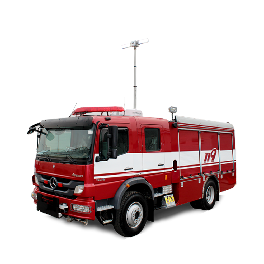 Fire fighting vehicle (Pumper)