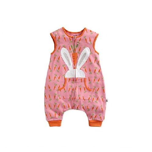 [Vaenait baby] Double Layered Cotton Wearable Blanket Sleeper Collection Bunny | Vaenait baby,girls,baby,kid,Sleeper,cotton,Double Layered,carrot,rubbit,bunny,pink