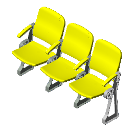 Spectator Slow Folding Chair(SY-8100)