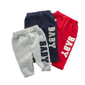 Baby Patched Sweatpants for Children