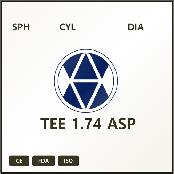 TEE 1.74 ASP LENS – 1.74 index 174Resin monomer Lens ASP design