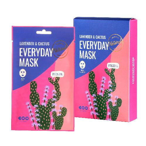 Lavender & Cactus Everyday Mask | Mask pack, Hydrating, Lavender